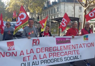 manifestation 9 octobre 2018