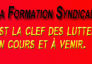 Plan de formation syndicale 2020