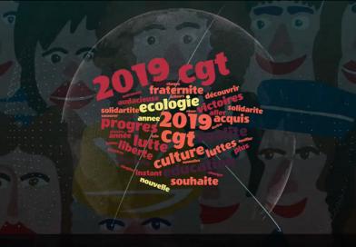 La CGT vous souhaite une année 2019 audacieuse et gagnante !