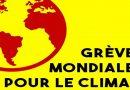 Soutien aux appels pour le Climat les 15 et 16 mars et appel à la grève le 19 mars pour le Progrès Social.