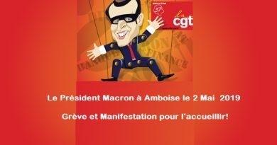 Macron à Amboise