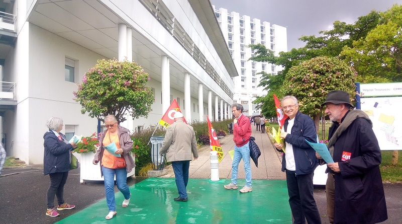 Les rendez-vous de retraités CGT 37 CHU Trousseau