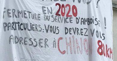 DANS LES CANTONS D'AMBOISE, BLÉRÉ et CHATEAU RENAULT SERVICES PUBLICS TOUT FOUT LE CAMP !