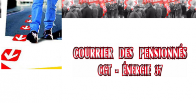 Courrier des pensionnés CGT- Energies Touraine. n° 48- Octobre 2020.