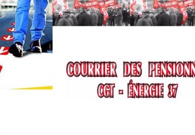 Courrier des pensionnés CGT-Energie Touraine. Bulletin trimestriel n°46- Mars 2020.