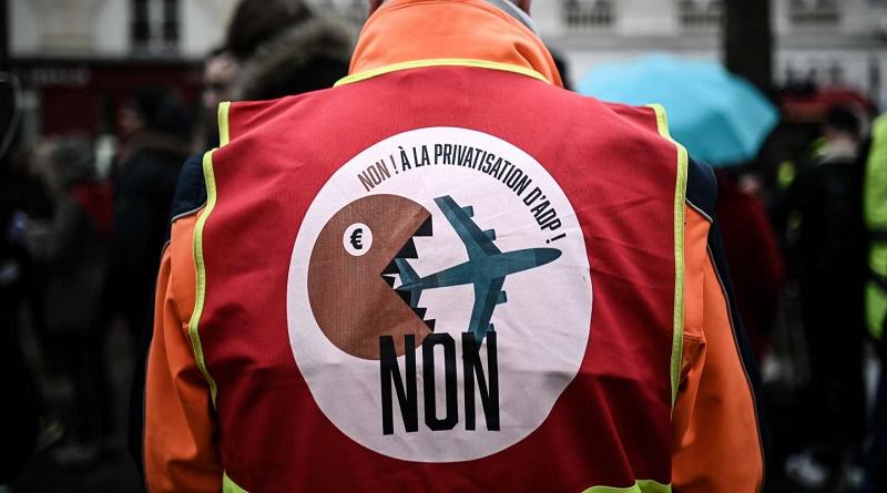 Référendum contre la privatisation ADP CGT 37