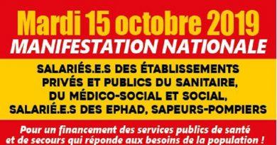 action santé 15 octobre 2019