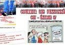 Courrier des pensionnés CGT- Energies Touraine. N°45.