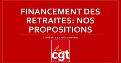 propositions cgt financement des retraites