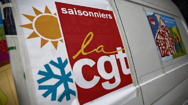 la CGT 37 à la rencontre des saisonniers d'Amboise