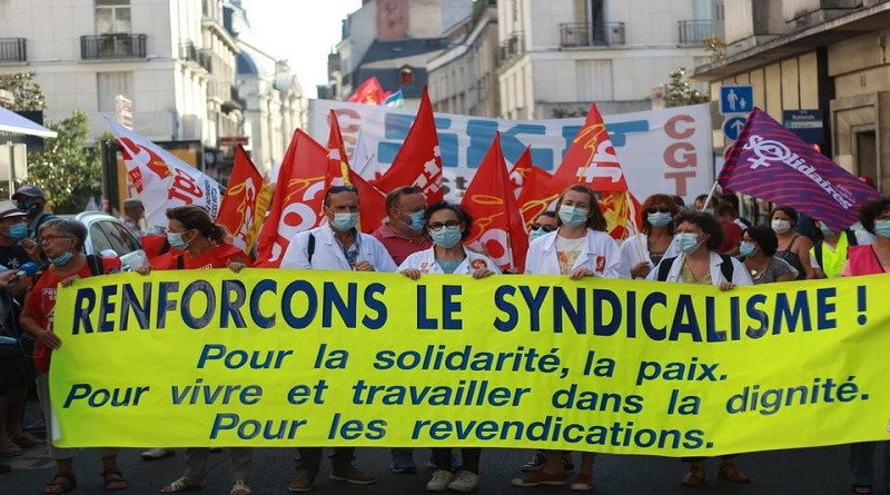 manifestation du 17 septembre à Tours