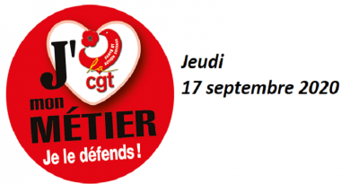 appel 17 septembre 2020 USD CGT 37